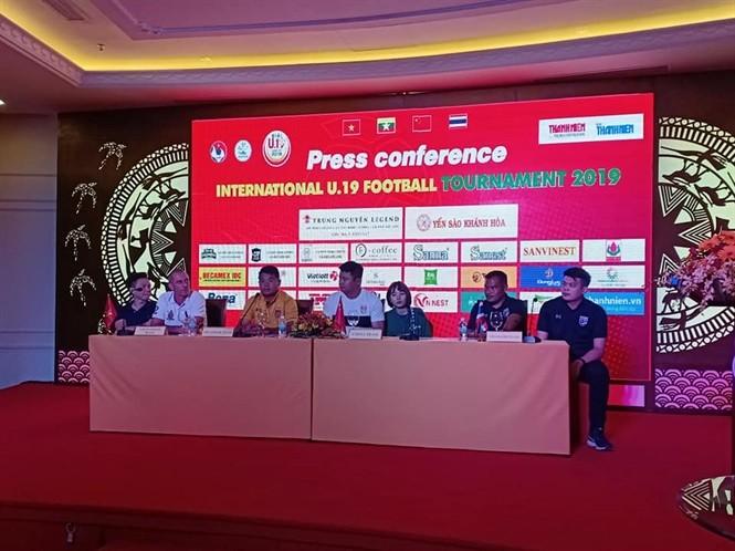 냐짱, 제4회 국제축구 챔피언십U19 개막 - ảnh 1
