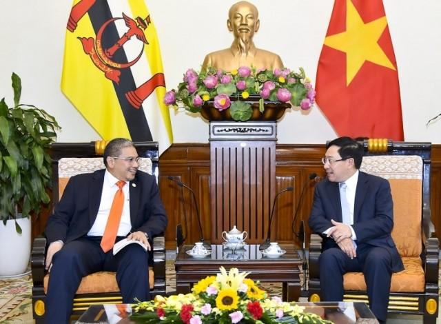 베트남-브루나이, 다양한 분야에서 협력 강화 - ảnh 1