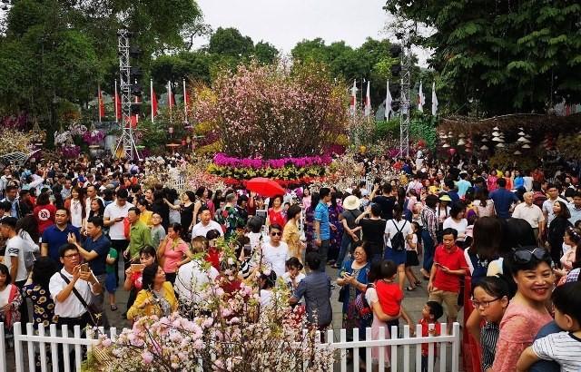 2019년 일본 – 베트남 벚꽃축제, 1백만명의 관광객 유치 - ảnh 1