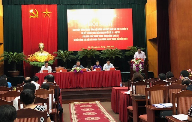 베트남 중앙농민협회 집행부 회의 - ảnh 1