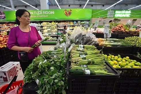 베트남의 대형마트업계, 비닐 봉지를 친환경 소재로 대체 - ảnh 1