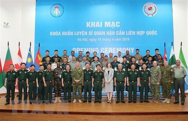 베트남에서의 유엔 병참 사관 훈련 코스 시작 - ảnh 1