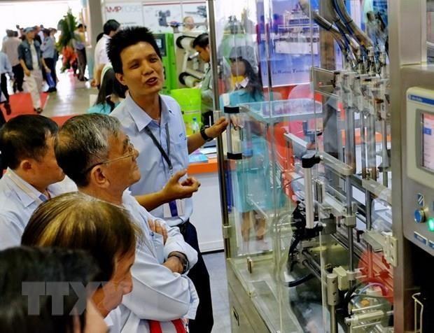 2019 하노이 국제 플라스틱-인쇄-포장산업 전시회 - ảnh 1