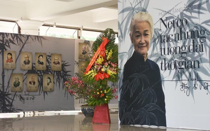 베트남 영웅 어머니 초상에 관한 미술전시회 - ảnh 1
