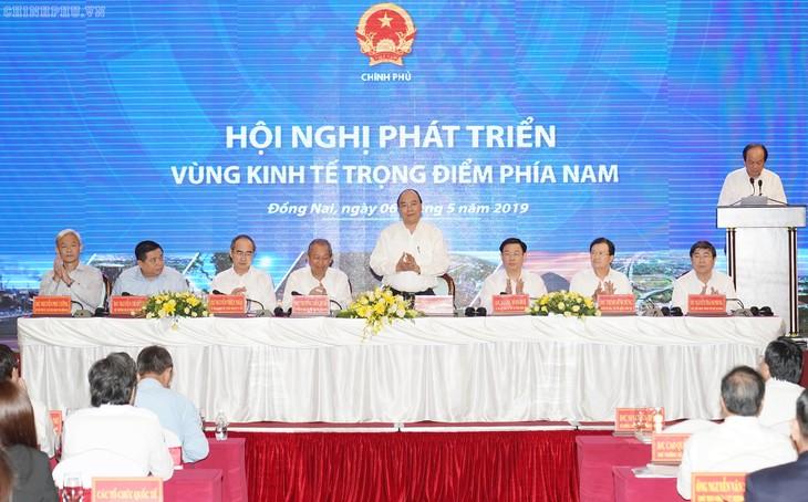 남부의 중점 경제구역 개발 회의 - ảnh 1
