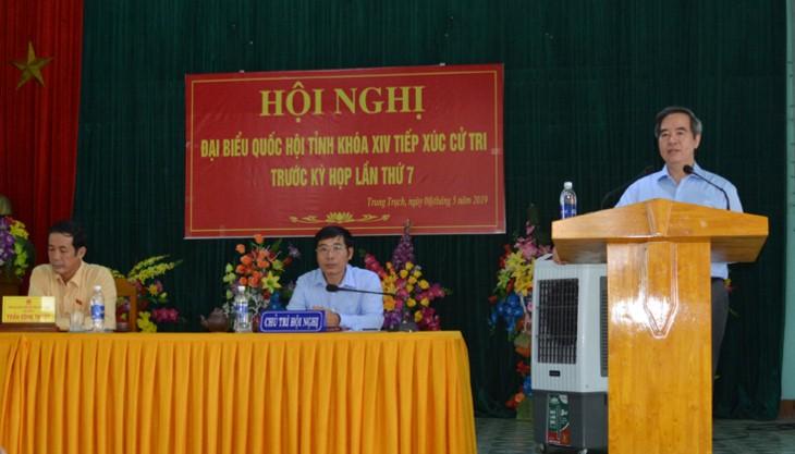 공산당, 정부 각료들, 각 지방 유권자 접촉 - ảnh 1