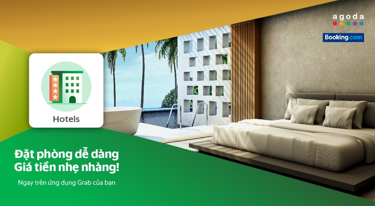 Grab to launch hotel reservation service in Vietnam - ảnh 1