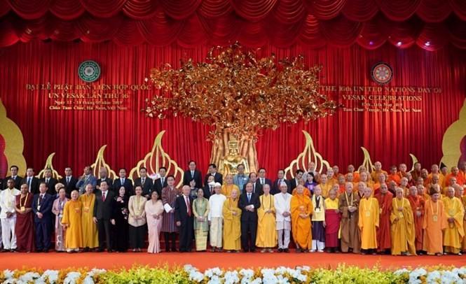 베트남 불교, 세계평화 건설을 위한 각국 불교와의 연대 - ảnh 1