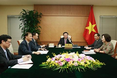 브엉 딘 후에 (Vương Đình Huệ)부총리: 베트남은 미국과의 포괄적인 파트너 관계 중시 - ảnh 1