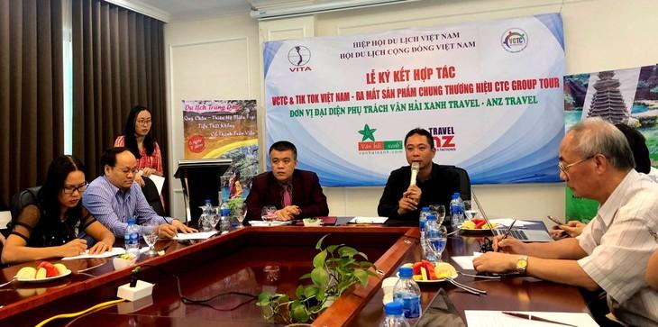 틱톡,베트남공동체관광협회와 협력협약을 공식으로 체결 - ảnh 1