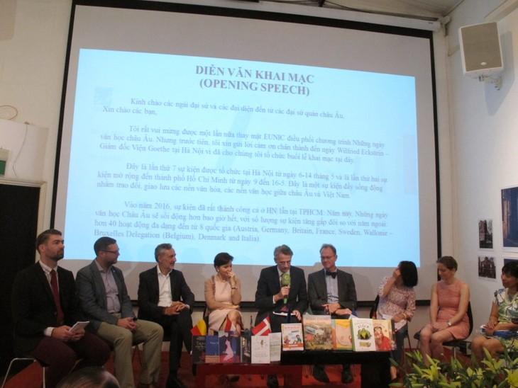 Khai mạc Những ngày văn học châu Âu tại Hà Nội - ảnh 1