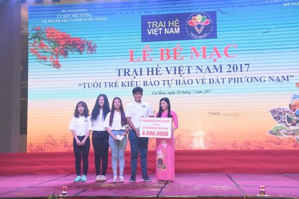 Xúc động giây phút bế mạc Trại hè Việt Nam 2017 - ảnh 4