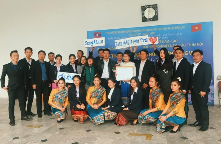 Cuộc thi hùng biện tiếng Việt – cầu nối hữu nghị hai nước Việt - Lào - ảnh 5