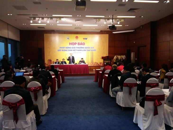 Phát động giải thưởng quốc gia bất động sản Việt Nam lần thứ nhất - ảnh 1