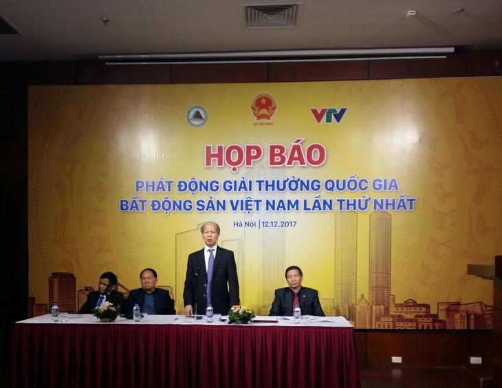 Phát động giải thưởng quốc gia bất động sản Việt Nam lần thứ nhất - ảnh 2