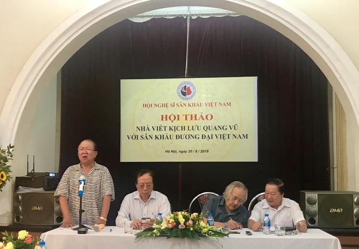 30 năm nhìn lại kịch Lưu Quang Vũ với sân khấu đương đại Việt Nam - ảnh 1