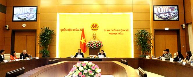 Phó Chủ tịch Quốc hội Phùng Quốc Hiển tiếp Đoàn đại biểu Hội đồng Kinh doanh Hoa Kỳ - ASEAN - ảnh 1