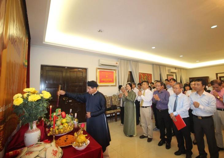 Long trọng lễ Giỗ tổ Hùng Vương tại Malaysia  - ảnh 1