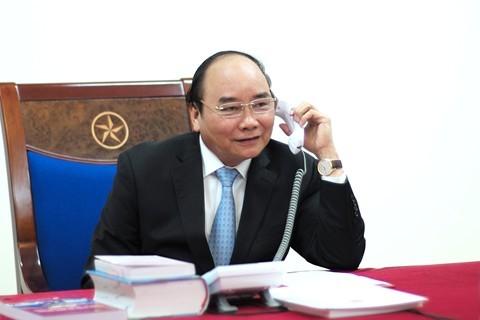 Thủ tướng Nguyễn Xuân Phúc chúc Tết lãnh đạo Lào và Campuchia nhân dịp Tết cổ truyền Bunpimay và  Chol Chnam Thmay - ảnh 1