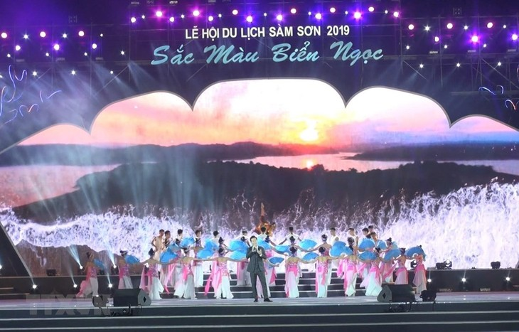 Thanh Hóa: Khai mạc lễ hội du lịch biển Sầm Sơn - ảnh 1