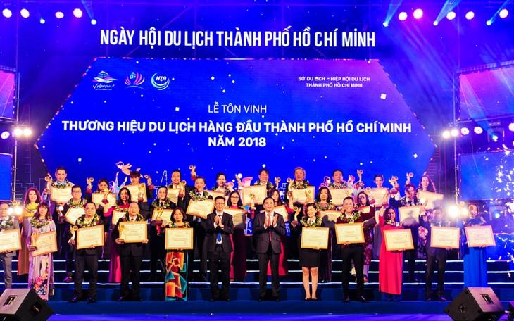 TPHCM: Tôn vinh 100 thương hiệu ngành du lịch hàng đầu - ảnh 1