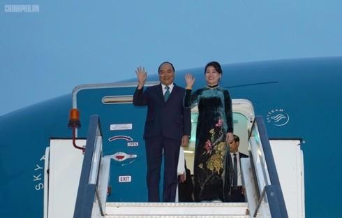 Thủ tướng Nguyễn Xuân Phúc bắt đầu chuyến thăm chính thức Romania - ảnh 1
