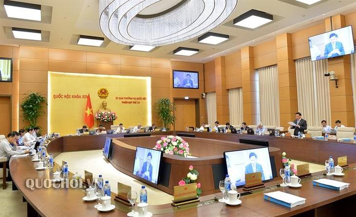 Ủy ban Thường vụ Quốc hội tiếp tục cho ý kiến về các dự thảo, dự án Luật - ảnh 1
