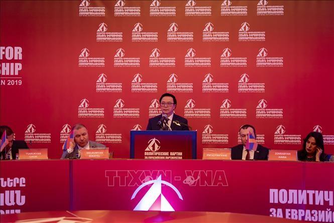 """Việt Nam tham dự hội thảo """"Các chính đảng vì hợp tác Á-Âu"""" - ảnh 1"""