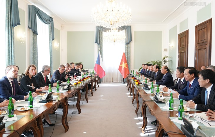 Việt Nam - Cộng hòa Czech tăng cường hợp tác trên nhiều lĩnh vực - ảnh 3