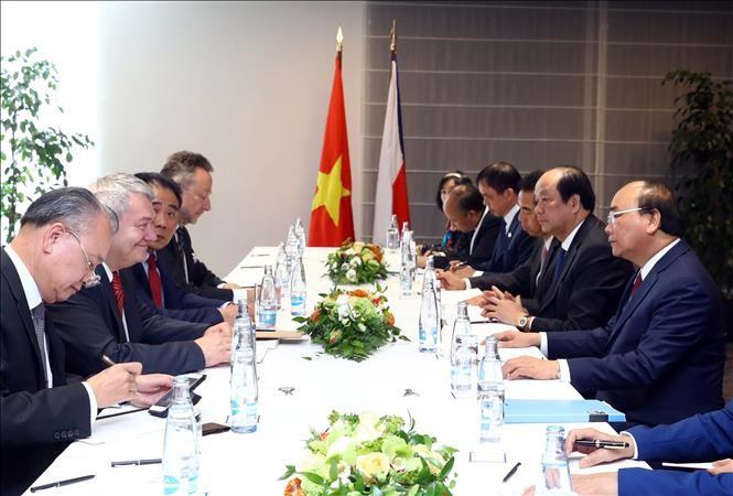 Hoạt động của Thủ tướng Nguyễn Xuân Phúc tại CH Czech - ảnh 2