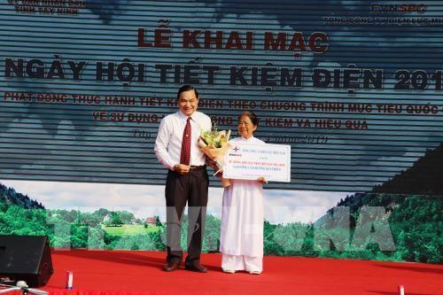 Tây Ninh: Sôi nổi ngày hội tiết kiệm điện năm 2019 - ảnh 1