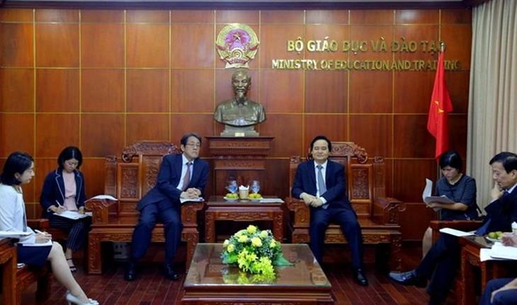 Nhật Bản mong muốn mở rộng việc dạy tiếng Nhật tại các trường đại học của Việt Nam - ảnh 1