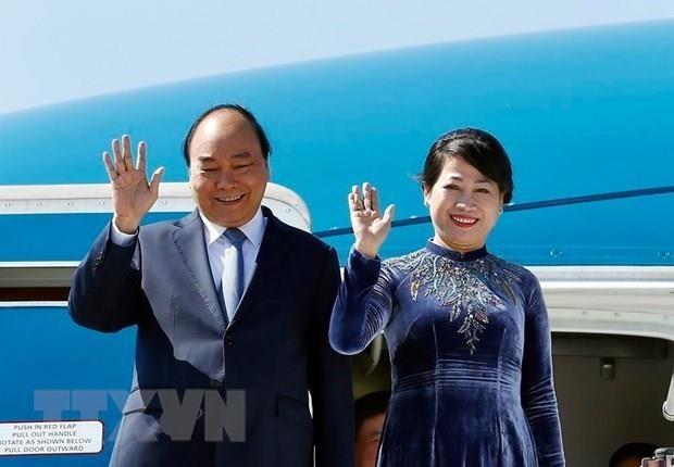 Thủ tướng Nguyễn Xuân Phúc lên đường thăm chính thức Liên bang Nga, Vương quốc Na Uy và Vương quốc Thụy Điển - ảnh 1