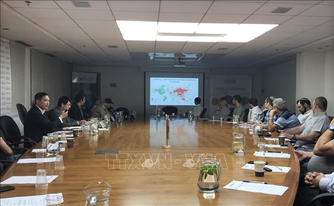 """Hội thảo xúc tiến thương mại """"Cơ hội kinh doanh tại Việt Nam cho các nhà nhập khẩu Israel"""" - ảnh 1"""