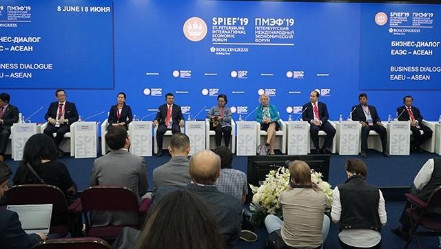 SPIEF-2019: Việt Nam được đánh giá cao trong Đối thoại kinh doanh EAEU-ASEAN - ảnh 1