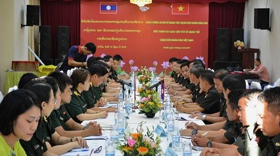 Tăng cường hợp tác thanh niên quân đội Việt Nam - Lào - ảnh 1