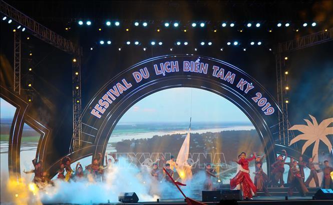 Khai mạc Festival du lịch biển Tam Kỳ năm 2019 - ảnh 1