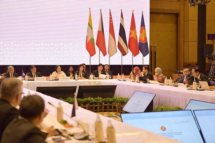 Hội nghị Bộ trưởng Kinh tế ASEAN đặc biệt về RCEP - ảnh 1