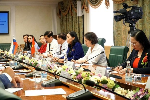 Việt Nam và LB Nga thúc đẩy hợp tác nghị viện - ảnh 1