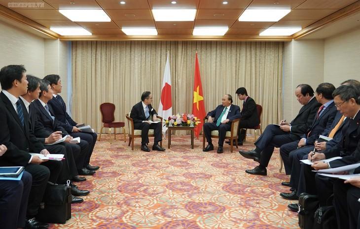 Hội nghị G20: Thủ tướng Nguyễn Xuân Phúc tiếp nhiều nhà đầu tư Nhật Bản  - ảnh 1