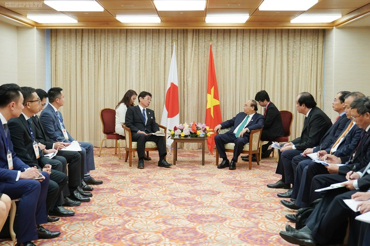 Hội nghị G20: Thủ tướng Nguyễn Xuân Phúc tiếp nhiều nhà đầu tư Nhật Bản  - ảnh 2