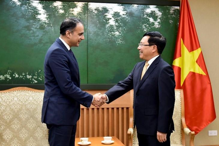 Phó Thủ tướng, Bộ trưởng Ngoại giao Phạm Bình Minh tiếp Phó Chủ tịch Ngân hàng Phát triển châu Á - ảnh 1