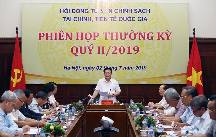 Phó Thủ tướng Vương Đình Huệ: Tiếp tục ổn định kinh tế vĩ mô - ảnh 1