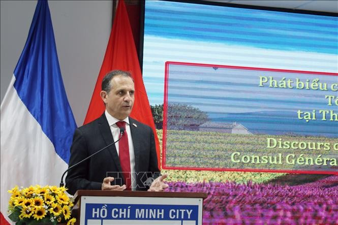 Thành phố Hồ Chí Minh kỷ niệm 230 năm Ngày Quốc khánh Cộng hòa Pháp - ảnh 1