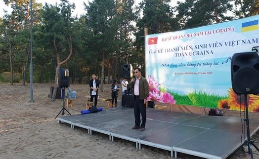 Trại hè thanh niên-sinh viên Việt Nam toàn Ukraine 2019 - ảnh 2