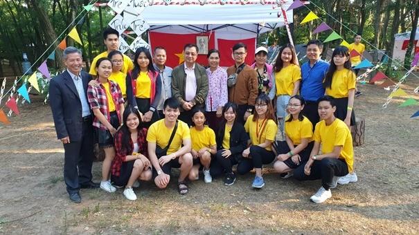 Trại hè thanh niên-sinh viên Việt Nam toàn Ukraine 2019 - ảnh 3