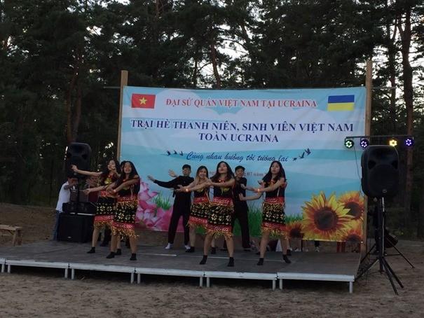 Trại hè thanh niên-sinh viên Việt Nam toàn Ukraine 2019 - ảnh 8