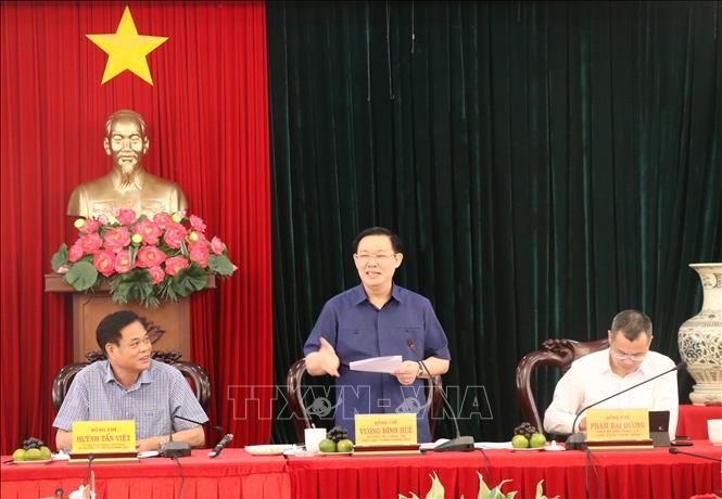 Phó Thủ tướng Chính phủ Vương Đình Huệ làm việc tại tỉnh Phú Yên - ảnh 1