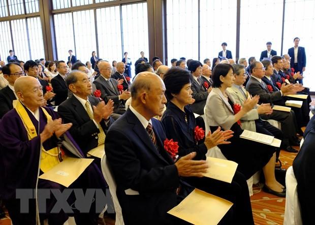 Vinh danh cá nhân, tổ chức góp phần thúc đẩy quan hệ Việt - Nhật - ảnh 1