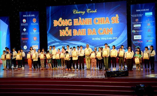 Đà Nẵng: Đồng hành chia sẻ nỗi đau da cam - ảnh 1